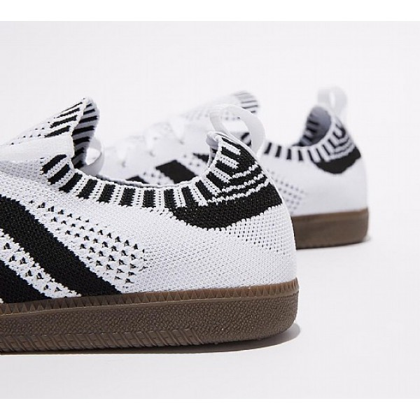 Günstig Adidas Samba Sock Primeknit Herren Weiß Turnschuhe Auslauf
