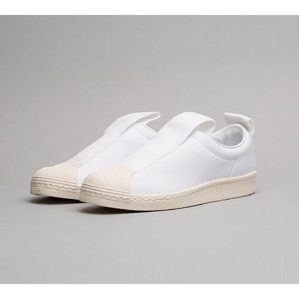 Günstig Adidas Superstar BW Slip On Damen Weiß Walkingschuhe Auf Verkauf