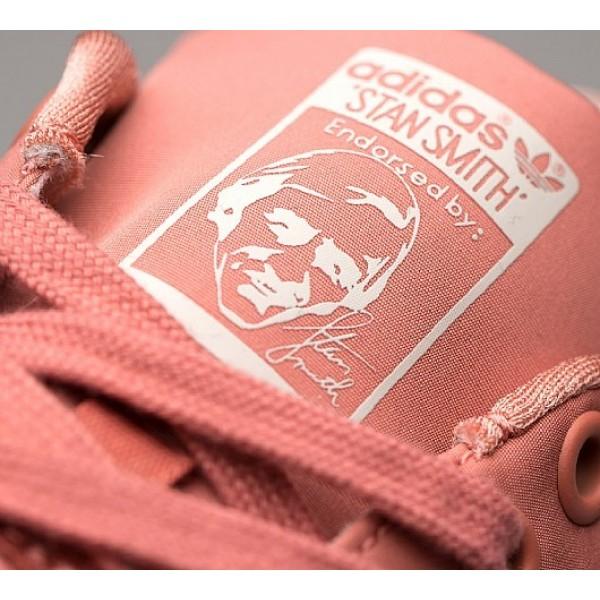 Günstig Adidas Stan Smith Satin Damen Rosa Tennisschuhe Auslauf