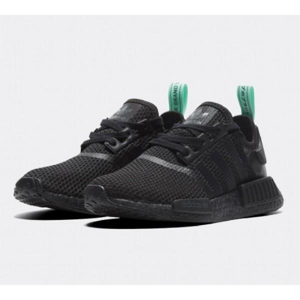 Günstig Adidas NMD R1 Damen Schwarz Sportschuhe Auf Verkauf