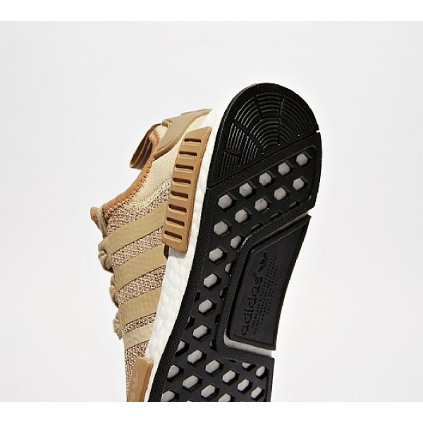 Günstig Adidas NMD R1 Damen Kamel Laufschuhe Auslauf