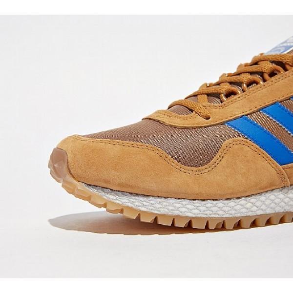 Günstig Adidas New York Herren Bräune Laufschuhe Auslauf