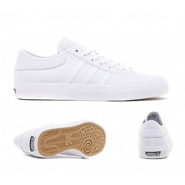 Günstig Adidas Matchcourt Herren Weiß Skate Schu...