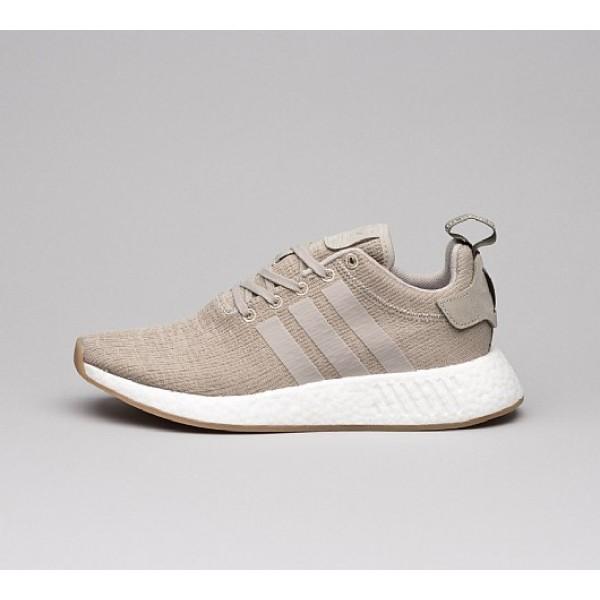 Günstig Adidas NMD R2 Herren Grau Laufschuhe Online Bestellen