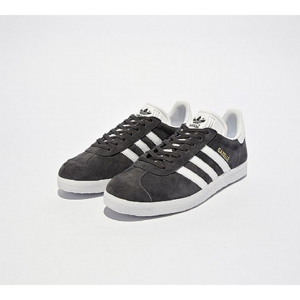 Günstig Adidas Gazelle Damen Grau Turnschuhe Verkauf