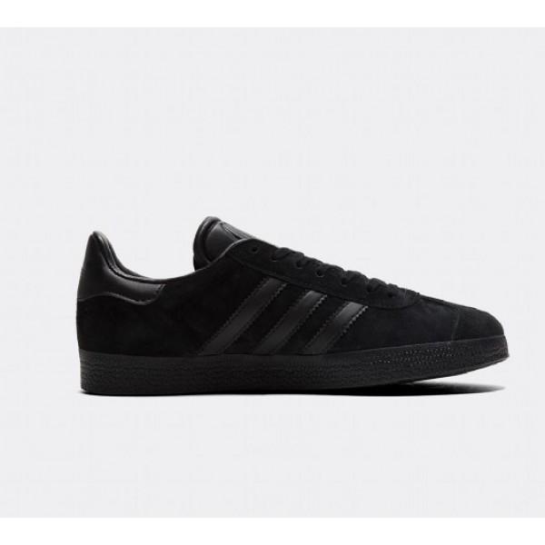 Günstig Adidas Gazelle Damen Schwarz Turnschuhe Verkauf
