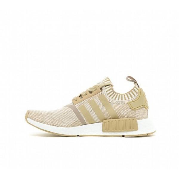 Günstig Adidas NMD R1 Primeknit Damen Khaki Laufschuhe Auf Verkauf
