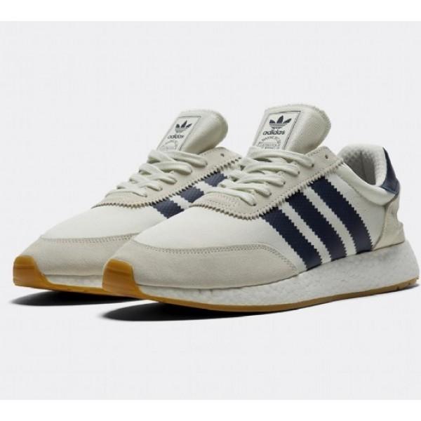 Neu Adidas I-5923 Boost Runner Herren Grau Laufschuhe Auf Verkauf