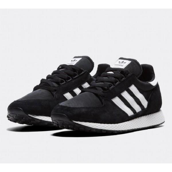 Günstig Adidas Forest Grove Herren Schwarz Laufschuhe Online