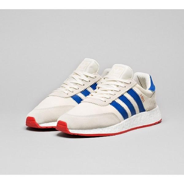 Neu Adidas I-5923 Boost Runner Herren Weiß Laufschuhe Auslauf