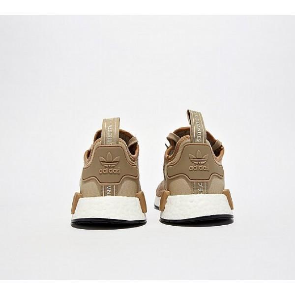 Neu Adidas NMD R1 Herren Kamel Laufschuhe Auf Verkauf