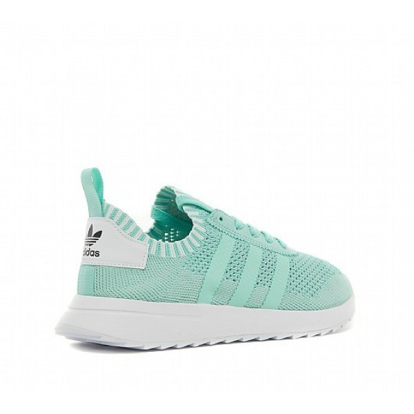 Neu Adidas FLB Primeknit Damen Grün Laufschuhe Outlet