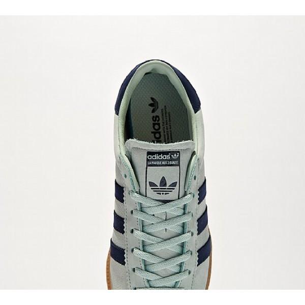 Neu Adidas Bermuda Herren Grün Turnschuhe Auf Verkauf
