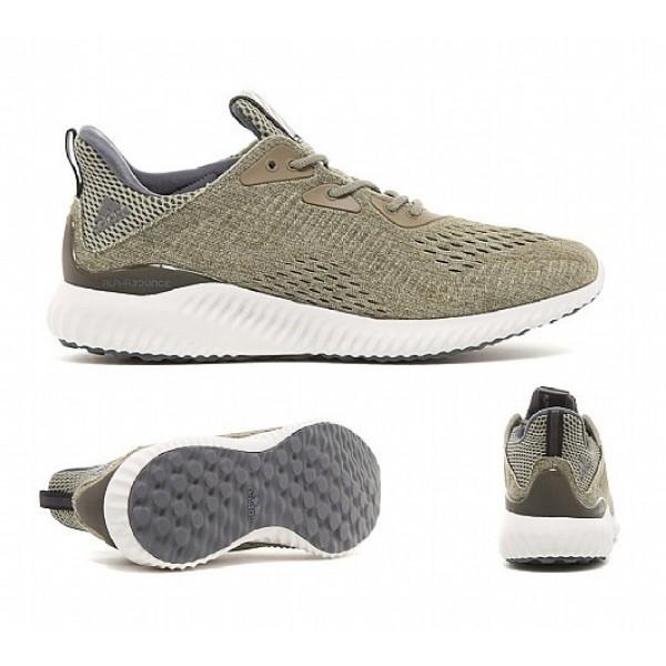Neu Adidas Alphabounce EM Herren Olive Laufschuhe Online