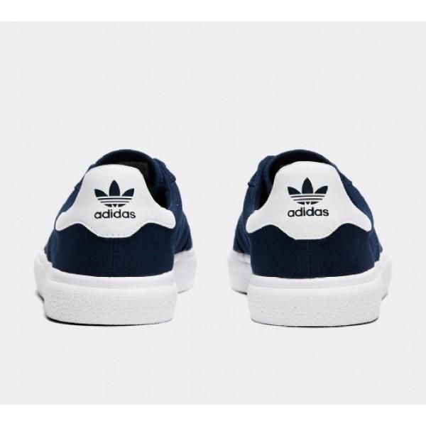 Neu Adidas 3MC Herren Navy Skate Schuhe Auf Verkauf
