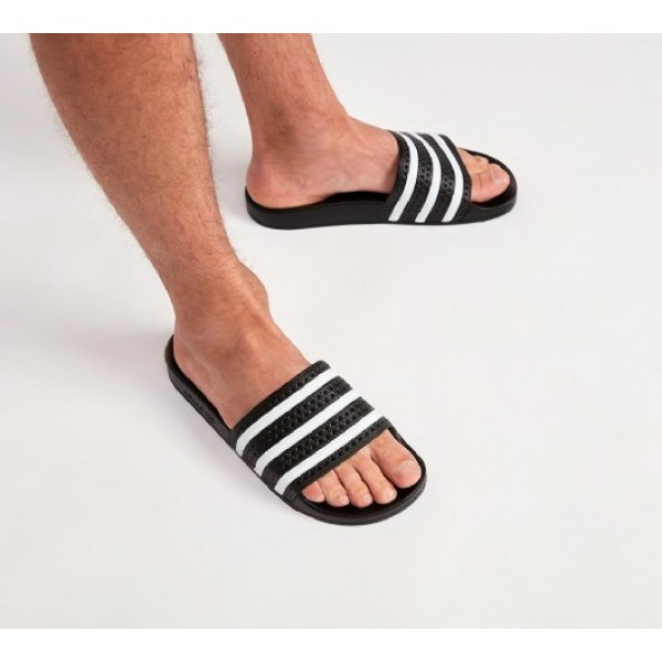Neu Adidas Adilette Herren Schwarz Sandalen Online Bestellen