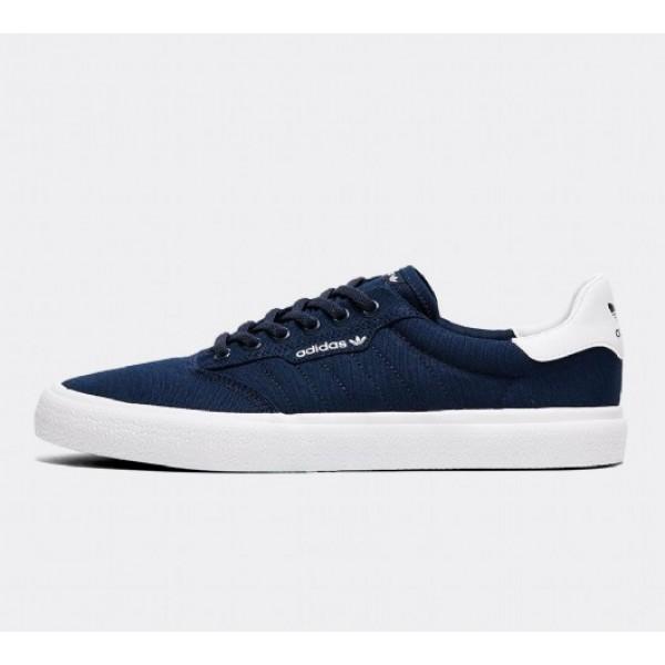 Neu Adidas 3MC Herren Navy Skate Schuhe Auf Verkau...