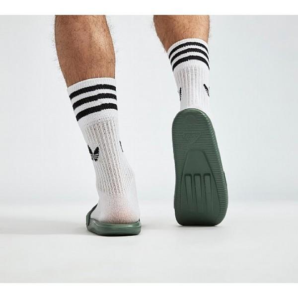 Neu Adidas Carozoon LG Herren Grün Sandalen Verkauf