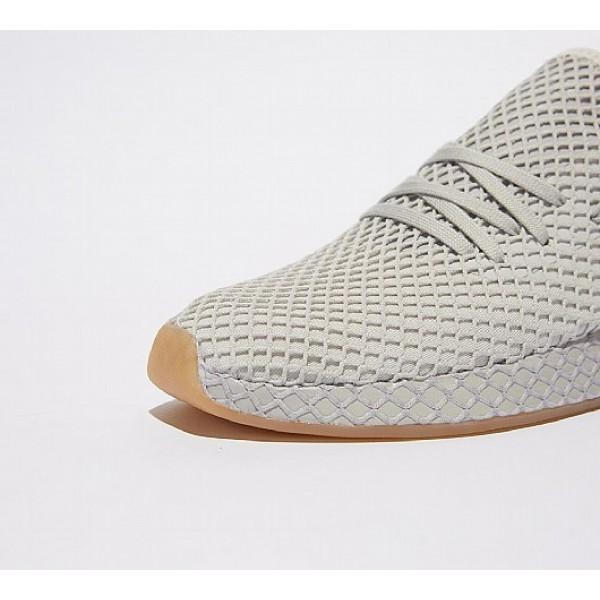 Billig Adidas Deerupt Runner Herren Grau Laufschuhe Verkauf