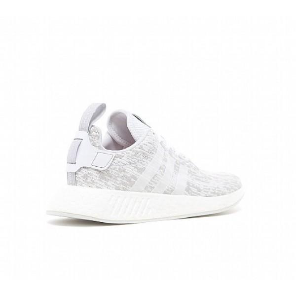 Billig Adidas NMD R2 Herren Weiß Laufschuhe Verkauf