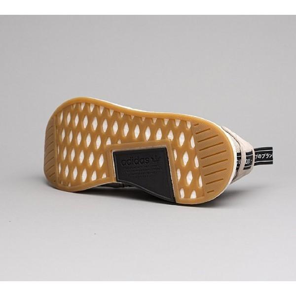 Billig Adidas NMD R2 Herren Khaki Laufschuhe Auf Verkauf