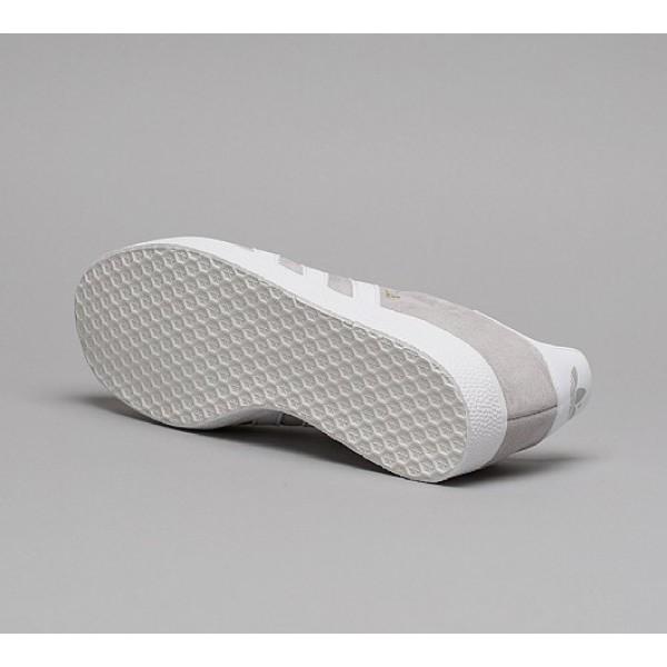 Billig Adidas Gazelle Super Essential Herren Grau Turnschuhe Verkauf