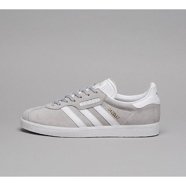 Billig Adidas Gazelle Super Essential Herren Grau ...