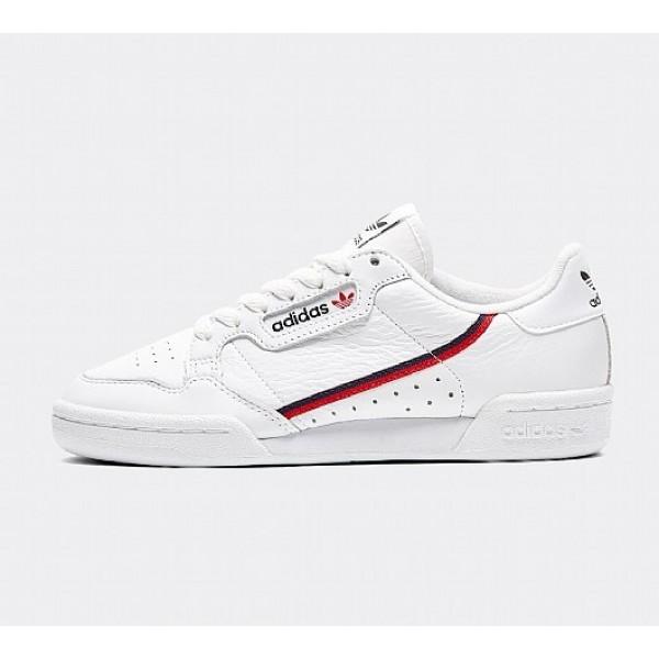 Billige Qualität Adidas Sneaker Continental 80 Schuh weiß