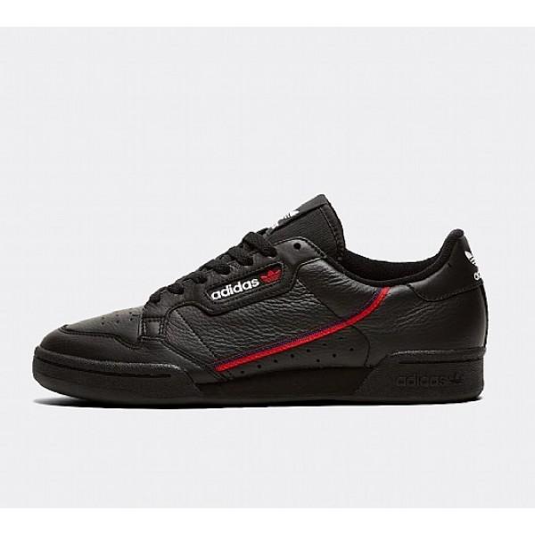 Günstig Adidas Continental 80 Herren Schwarz Tenn...