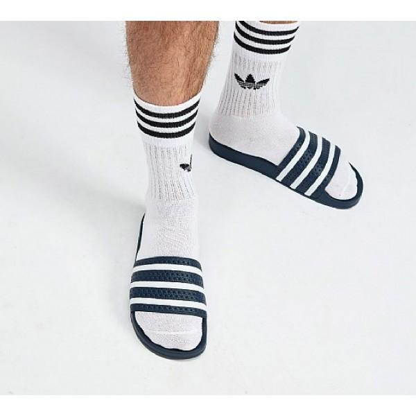 Günstig Adidas Adilette Herren Blau Sandalen Auf ...