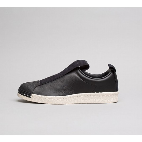 Billig Adidas Superstar BW Slip On Damen Schwarz W...
