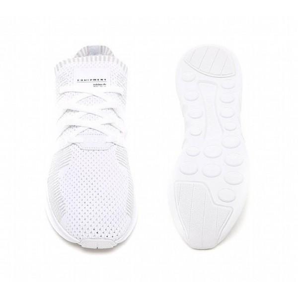 Billig Adidas EQT Support ADV Primeknit Herren Weiß Laufschuhe Auslauf