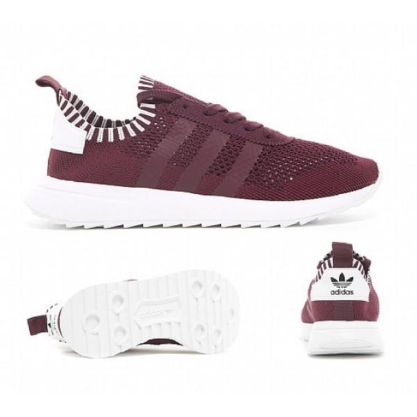 Billig Adidas FLB Primeknit Damen Kastanienbraun Laufschuhe Online Bestellen