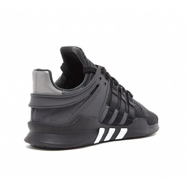 Billig Adidas EQT Support ADV Herren Schwarz Laufschuhe Outlet