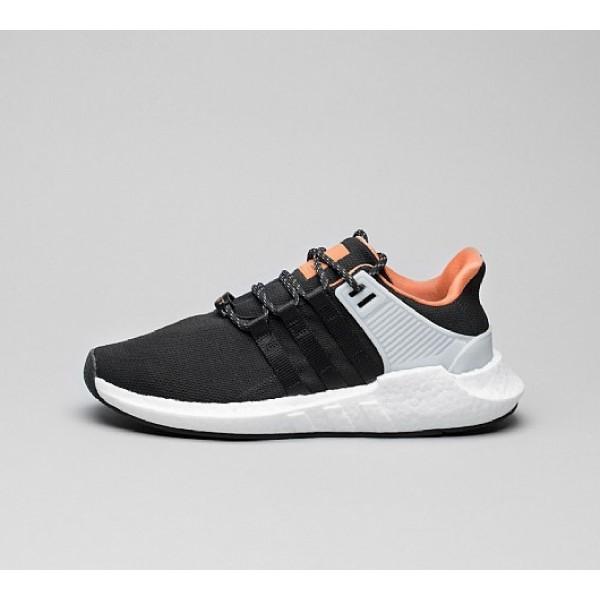 Billig Adidas EQT Support 93/17 Herren Schwarz Lau...