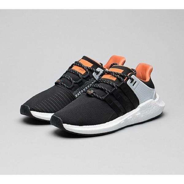Billig Adidas EQT Support 93/17 Herren Schwarz Laufschuhe Outlet