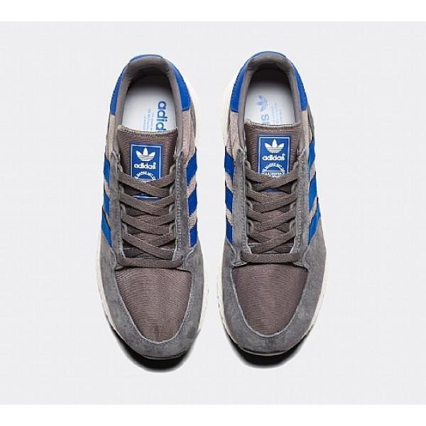 Billig Adidas Forest Grove Herren Grau Laufschuhe Auslauf