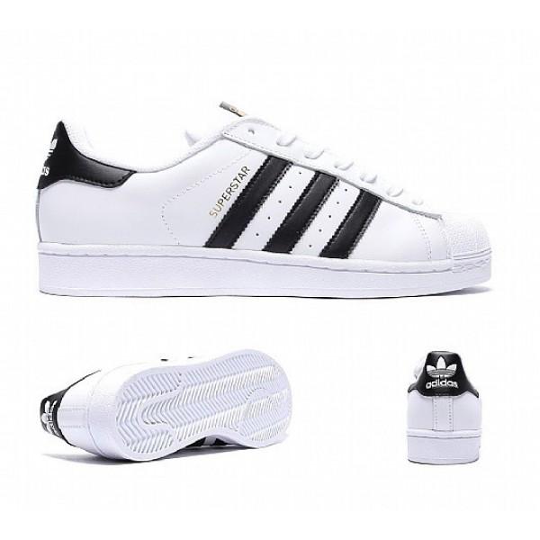 Neue Adidas Superstar Herren Weiß Turnschuhe Ausl...