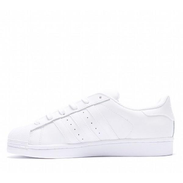 Neue Adidas Superstar Foundation Damen Weiß Turnschuhe Auf Verkauf