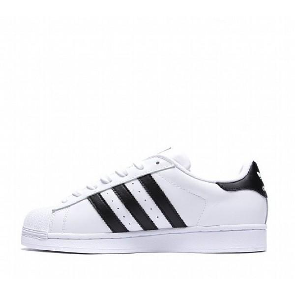 Neue Adidas Superstar Herren Weiß Turnschuhe Auslauf