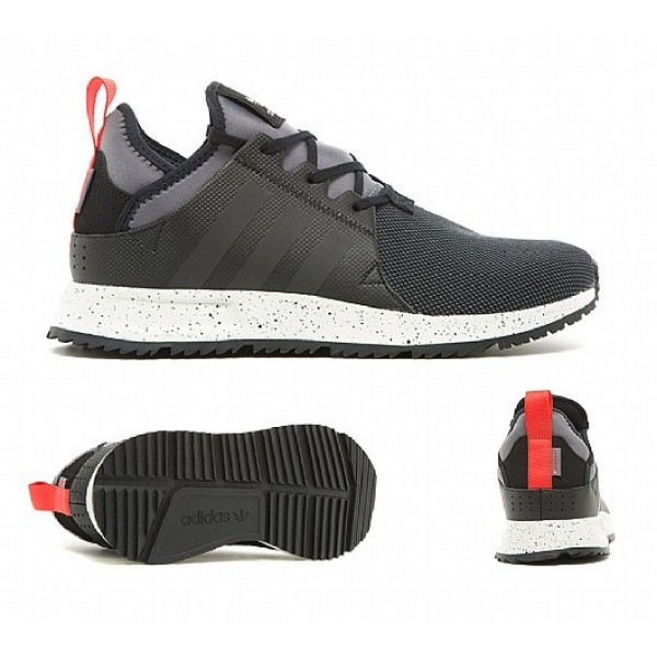 Neue Adidas X PLR Sneakerboot Herren Schwarz Laufs...