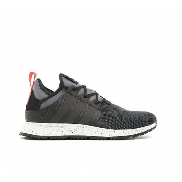 Neue Adidas X PLR Sneakerboot Herren Schwarz Laufschuhe Outlet