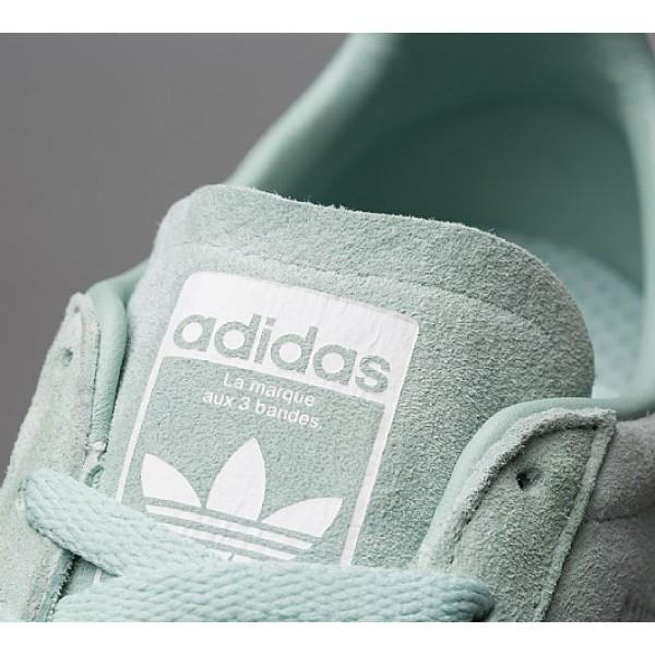 Stilvoll Adidas Campus AC Herren Grün Turnschuhe Auslauf