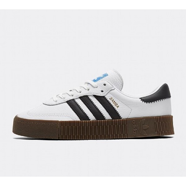 Billig Adidas Samba Rose Damen Weiß Turnschuhe On...