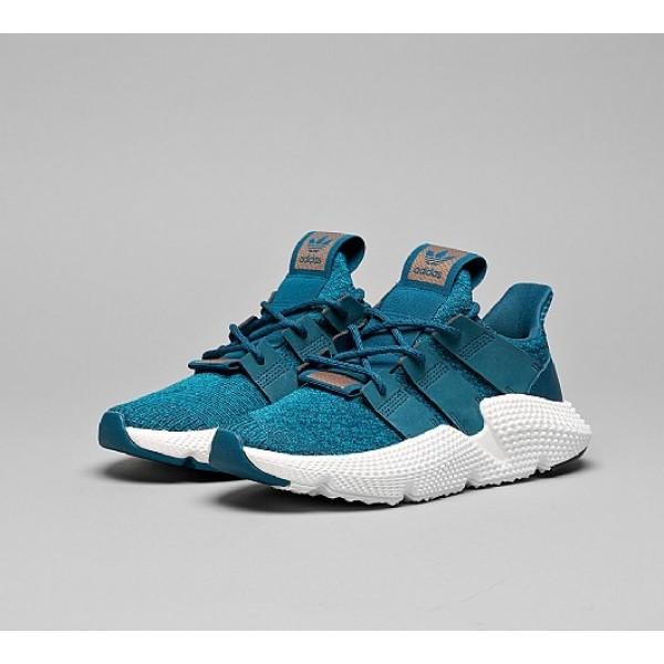 Billig Adidas Prophere Damen Blau Laufschuhe Auslauf