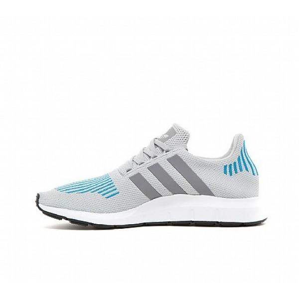 Billig Adidas Swift Run Herren Grau Laufschuhe Outlet