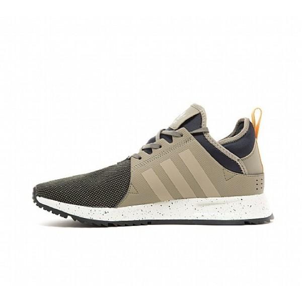 Neue Adidas X PLR Sneakerboot Herren Khaki Laufschuhe Auf Verkauf