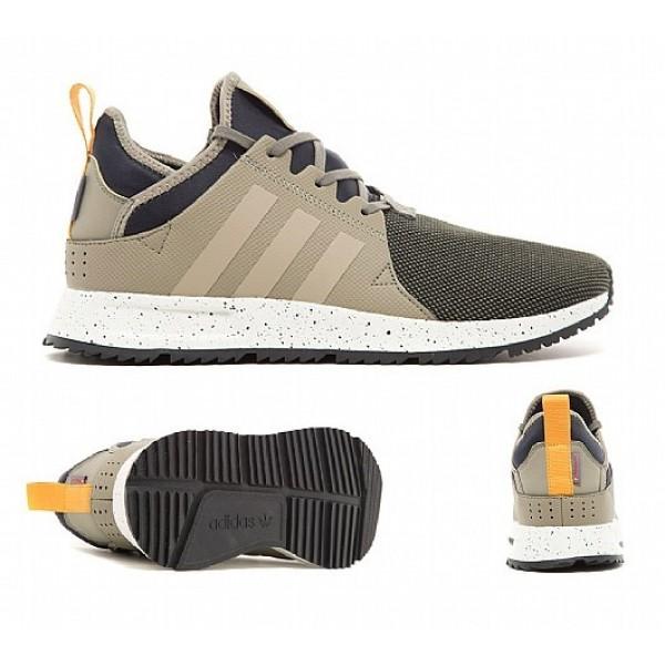 Neue Adidas X PLR Sneakerboot Herren Khaki Laufsch...