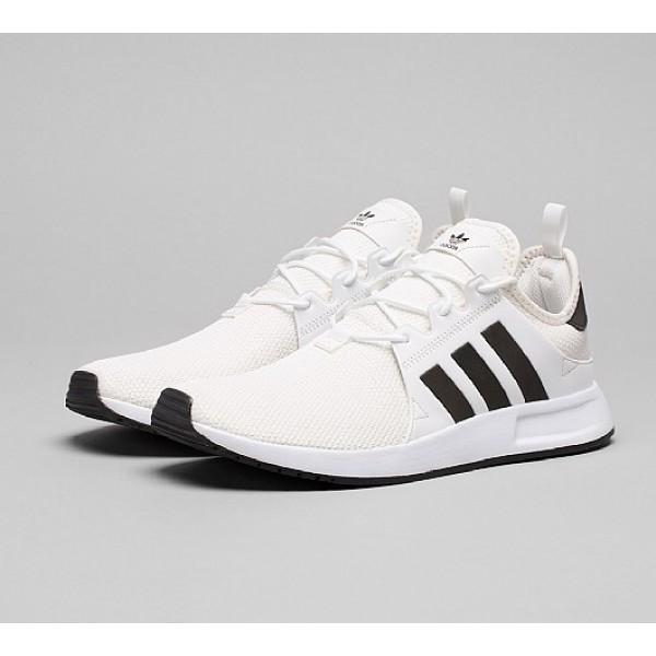 Neue Adidas X PLR Herren Weiß Laufschuhe Online