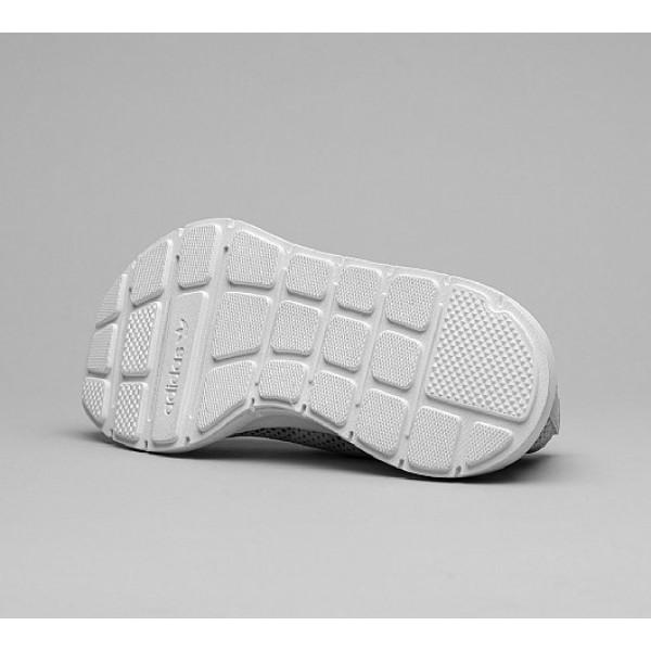 Stilvoll Adidas Swift Run Primeknit Damen Grau Laufschuhe Outlet